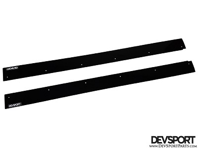 DevSport Side Skirt Wind Splitters (2006-2011 Honda Civic Sedan)